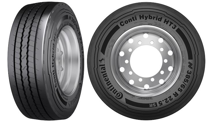 Continental lanza el Conti Hybrid HT3 SR, un neumático de semirremolque para aplicaciones severas
