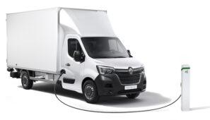 Renault amplía la gama Master Z.E. con una versión chasis-cabina