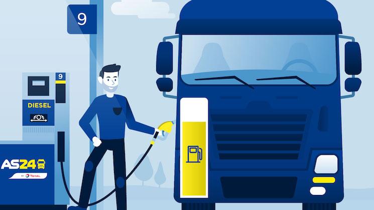 AS24 amplía la red de parkings seguros para camiones en España.