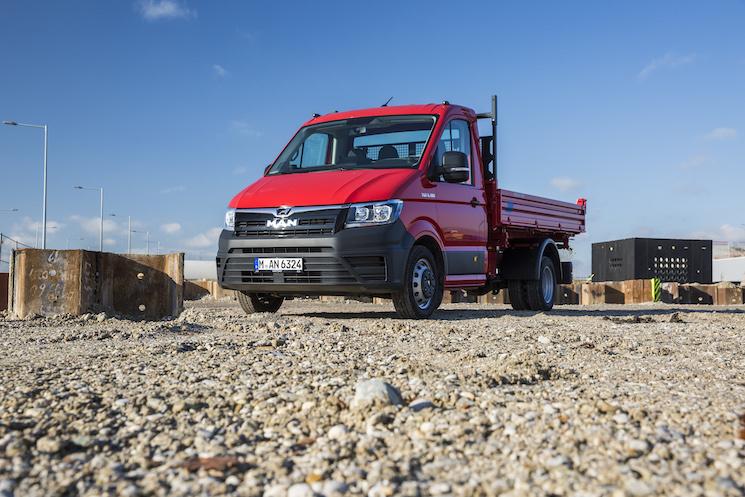 MAN pone a la venta una variante de la TGE con 5,5 toneladas y tracción total