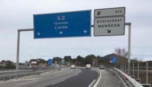 El rebrote en la comarca del Segriá en Lleida ha provocado restricciones a la circulación en la A2 durante el confinamiento.