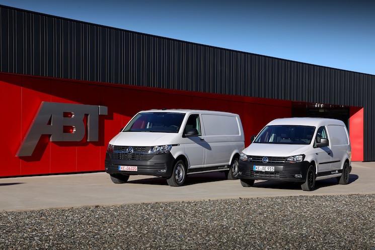 Con el lanzamiento de la e-Caddy ABT y de la e-Transporter ABT, toda la gama de vehículos comerciales de Volkswagen tiene su variante 100% eléctrica susceptible de acogerse a las ayudas del Plan Moves II.