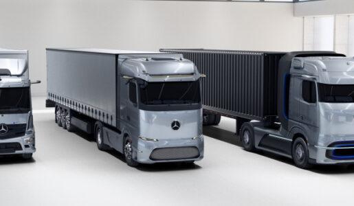Mercedes-Benz GenH2 Truck, camión de hidrógeno con 1000 kilómetros de autonomía, que se suma al eActros y eActros Long Haul