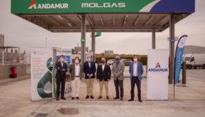 Andamur inaugura gasinera en su estación de Guarromán