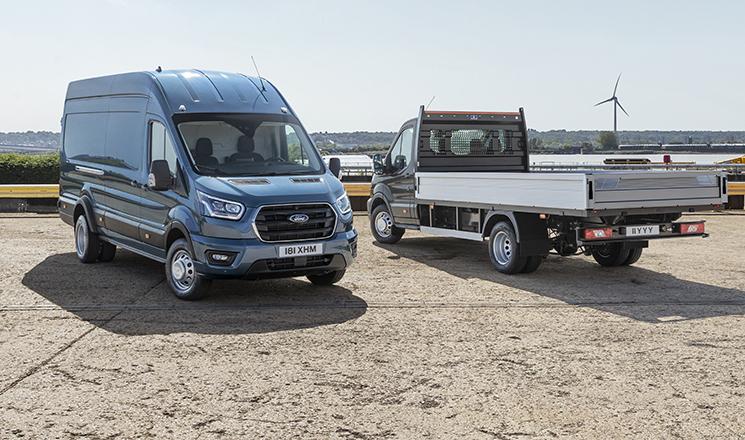 Ford amplia la gama Transit con versiones de 5 toneladas