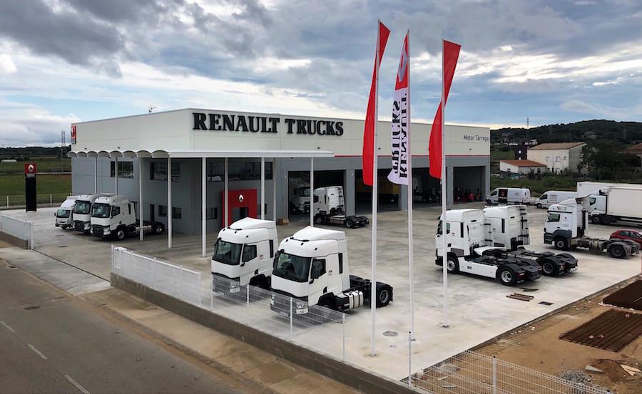 Renault Trucks cuenta con nuevas instalaciones en Girona