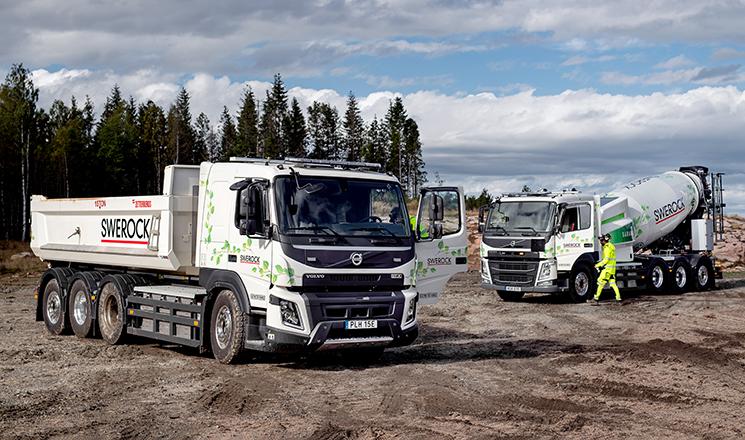 La gama de obras Volvo FMX cumple diez años e inicia su electrificación