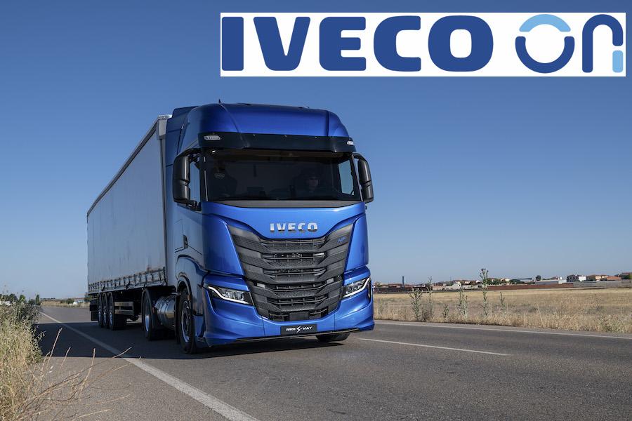 IVECO ON agrupa todas las soluciones digitales de IVECO