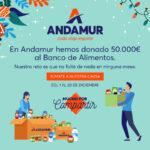 Andamur pone en marcha el reto solidario Mucho por Compartir