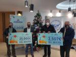 Andamur entrega 50.000 euros a los Bancos de Alimentos de Almería y del Segura
