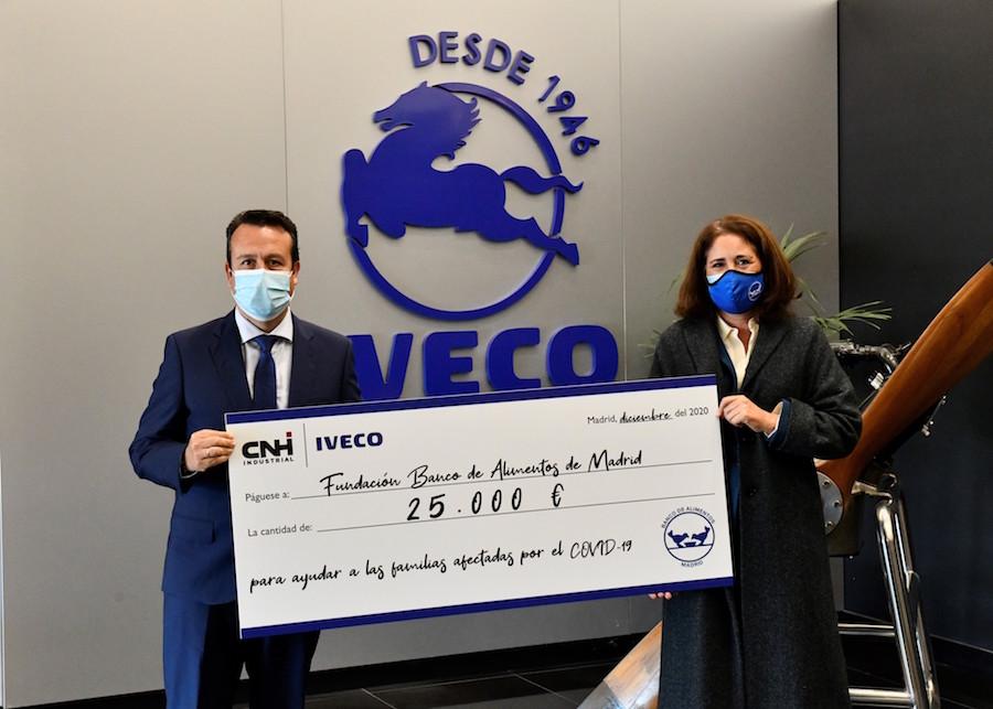 IVECO colabora un año más con Banco de Alimentos