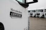 """Los mejores camiones usados Mercedes-Benz llevarán la etiqueta """"Certified"""" y tendrán una garantía de 12 meses de la transmisión"""
