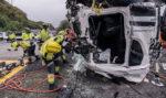 Los fallecidos en accidente de tráfico bajan un 21%, pero en camión solo un 15,4%