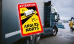 Ya es obligatorio poner las señales de ángulo muerto en los camiones para circular por Francia