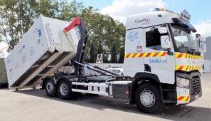 Un Renault Trucks T contribuye a la vacunación en Navarra