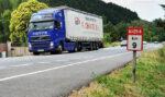 Manifestación en Pamplona contra la supresión de los módulos en Navarra y los peajes solo a camiones