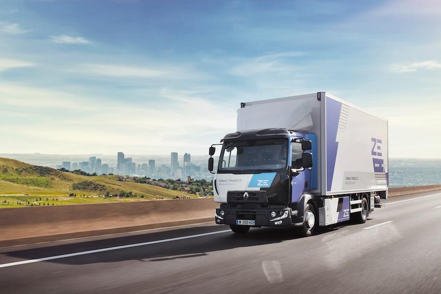 Bruno Bin anuncia que renault Trucks tendrá una gama completa eléctrica en 2023.