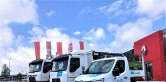 Gama Z.E. de distribución urbana de Renault Trucks.