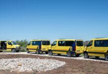 Furgonetas Sprinter 4x4 adquiridas por GEACAM para la prevención y extinción de incendios en Castilla-La Mancha.