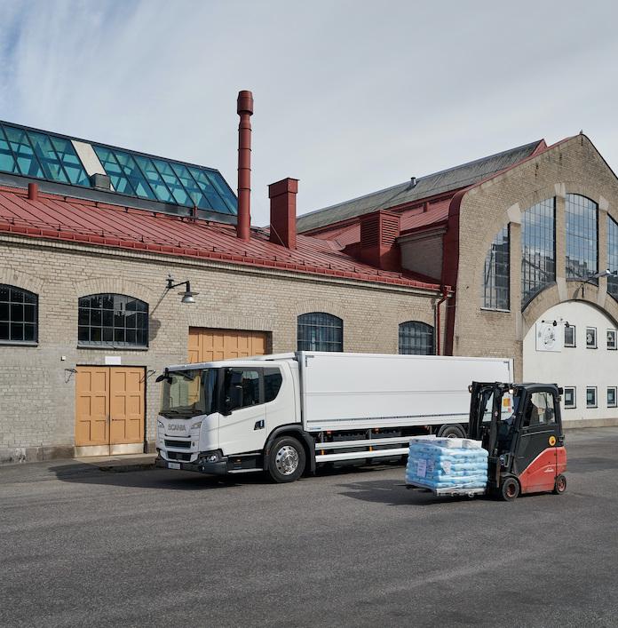 carga y descarga de camión